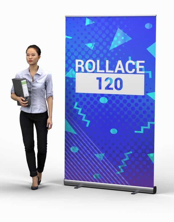 ROLLACE 120  Enrouleur Eco+ 120 x 200 cm